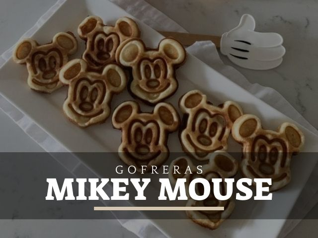mejores gofreras mikey mouse